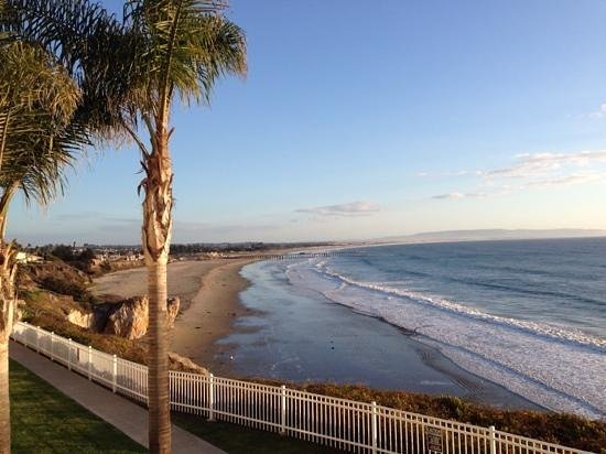 Pismo Lighthouse Suites: Winter view from balcony