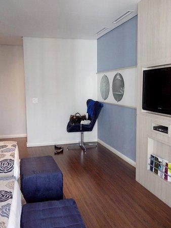 Mercure Sao Paulo Pamplona: quarto