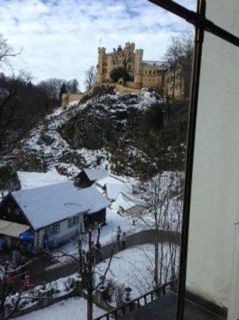 Hotel Mueller: View of Schloss Hohenschwangau
