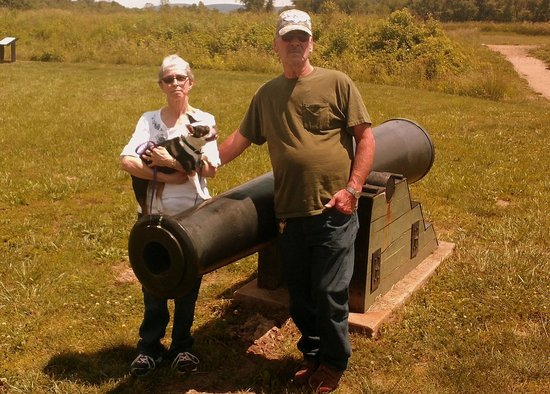 Fort Davidson State Historic Site: An actual Canon from the late 1800's