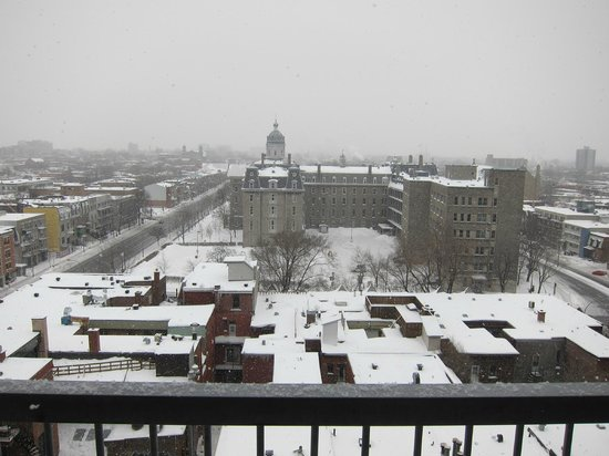 Hotel de l'ITHQ: View from 7th floor, Christmas Day
