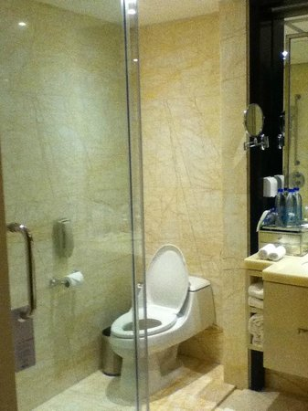 China Hotel, A Marriott Hotel, Guangzhou : super marble shower booth