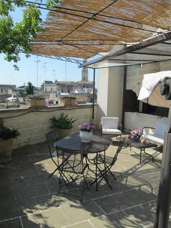 Roof Barocco Suite B&B: Lounge
