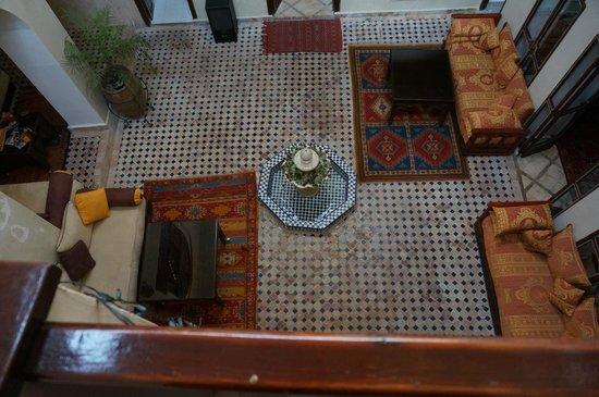 Riad Marana : courtyard