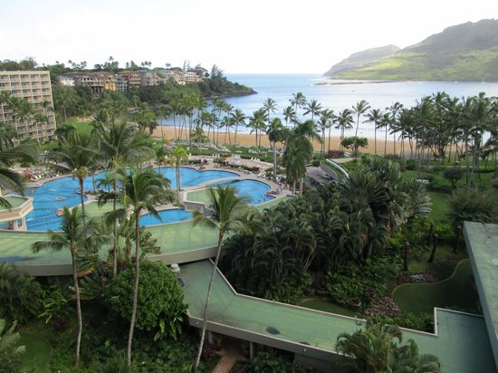 Kaua'i Marriott Resort: View from Balcony