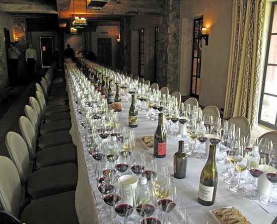 Blackberry Farm: The Wine Room at The Barn