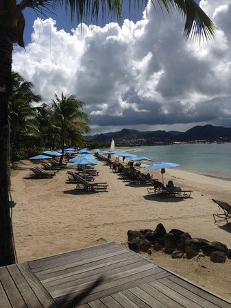 The Landings Resort & Spa St. Lucia : view from restaurant