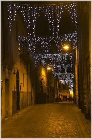 Chiesa di San Pancrazio: Lighted for the Holidays