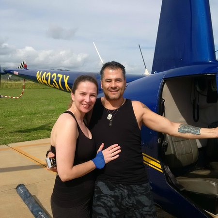 Mauna Loa Helicopters Tours: Tamara & Marty