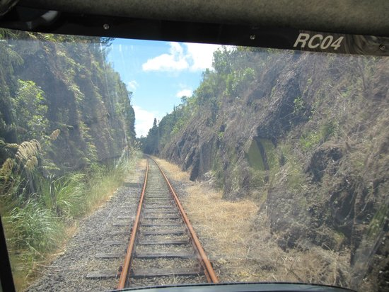 Railcruising: View from the back of the rail car