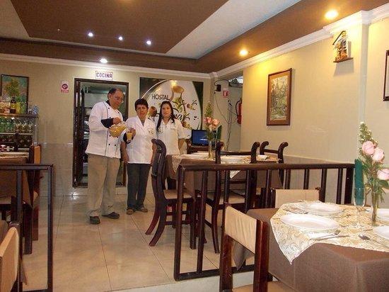Hostal Jora Continental : Restaurante