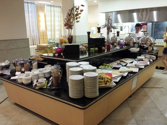 Hotel Novotel Sao Paulo Jaragua Convention : excelente café-da-manhã, por R$ 34