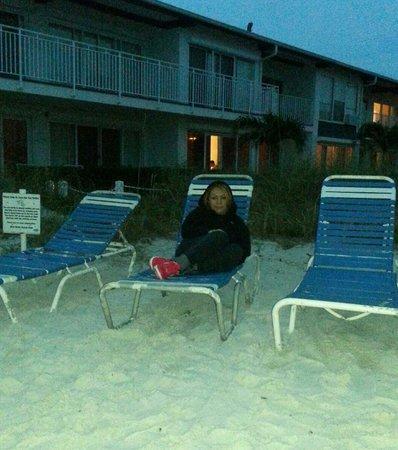 Blue Water Beach Club: Es nuestra primera vez, en Anna maria island, y en este hotel es maravilloso , se los recomiendo
