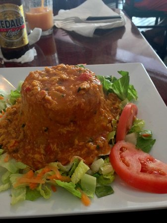 Cafe del Angel: Crab meat mofongo