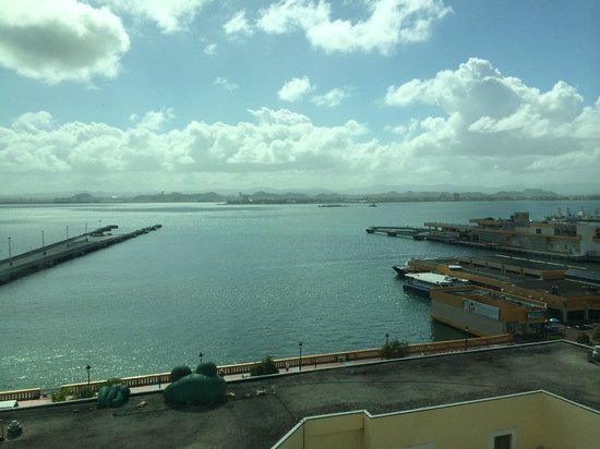 Sheraton Old San Juan Hotel : View from room (deluxe room)