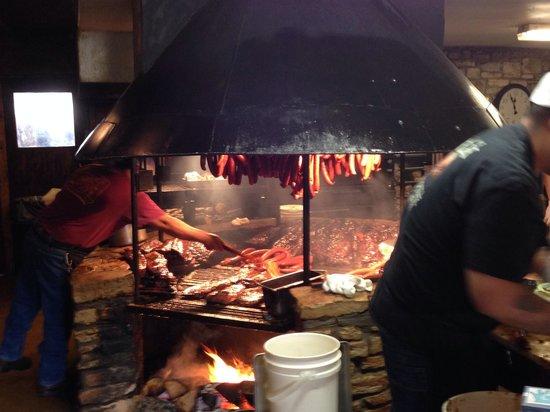 Salt Lick BBQ: Meat meat meat