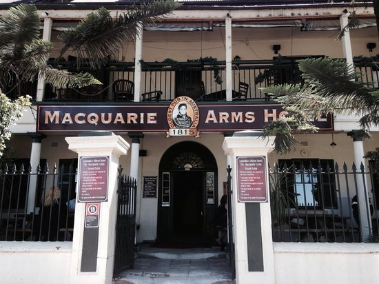 Macquarie Arms Hotel: Atmosphere abounds