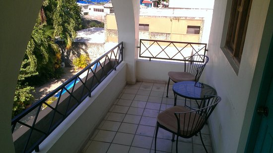 Don Antonio Aparta Hotel : Outdoor sitting area