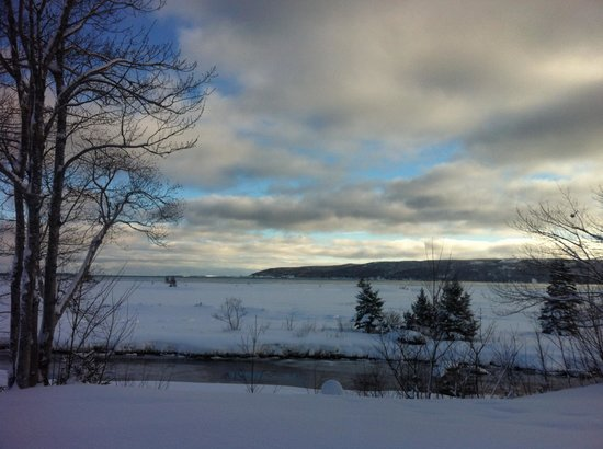 Cabot Shores Wilderness Resort and Retreat: View from the chalet