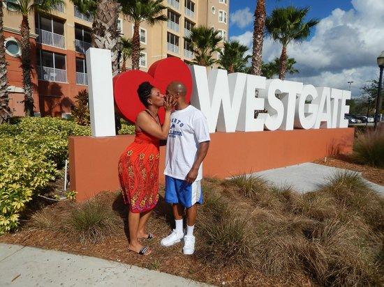 Westgate Vacation Villas Resort & Spa : front area