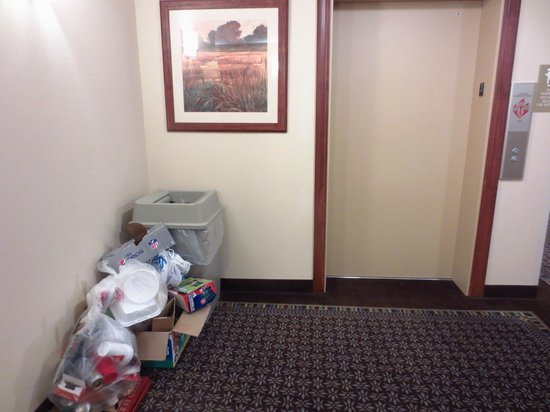 Candlewood Suites Murfreesboro: Obviously the 3rd floor elevator area each of the two nights there.