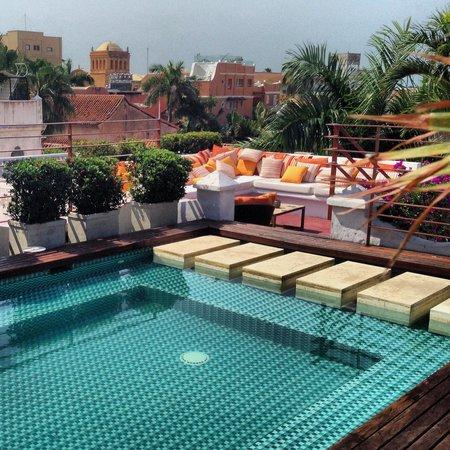 Ananda Hotel Boutique : Terraza