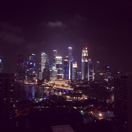 Pan Pacific Singapore: Good city view