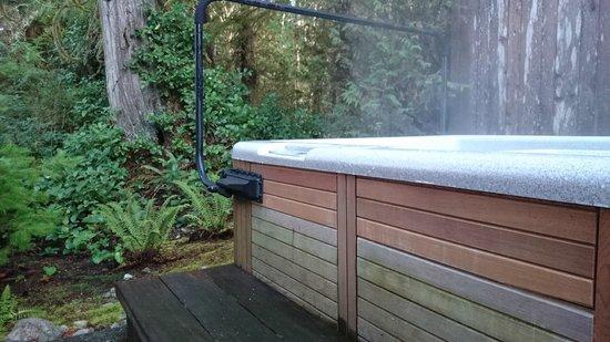 Long Beach Lodge Resort: Private Hot Tub