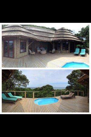Thonga Beach Lodge : Room/hut number 8