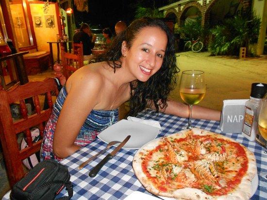 Cariocas Pizzas Holbox: Si, la pizza estuvo buena.