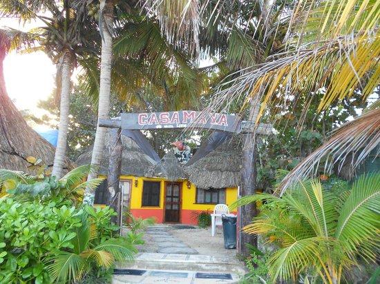 Casa Maya Holbox: entrada