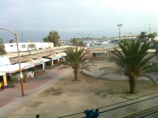Hotel Gran Palma: View of tour boat pier from room 2-06