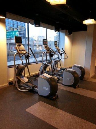 Crystal City Marriott at Reagan National Airport: Gym
