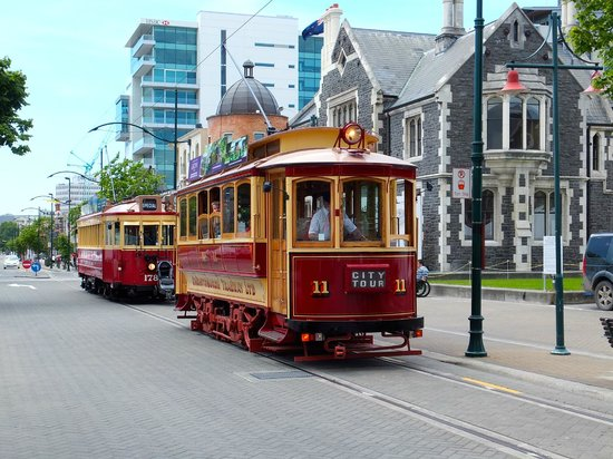 Christchurch Tramway: Transport from a bygone era.
