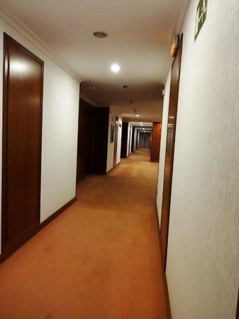 Tryp Santiago: 廊下