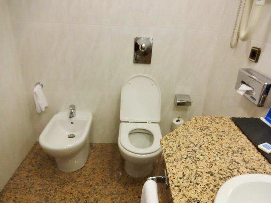 Tryp Santiago: バスルーム