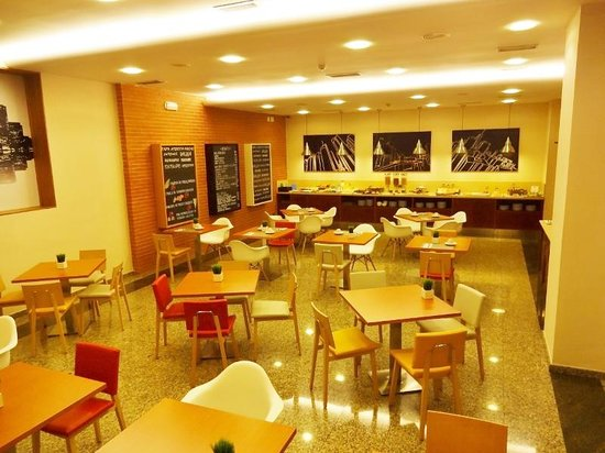Tryp Santiago: 朝食の場所?