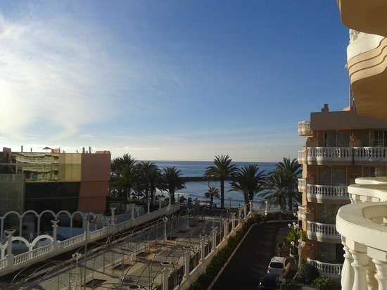 Cleopatra Palace Hotel : View from our balcony