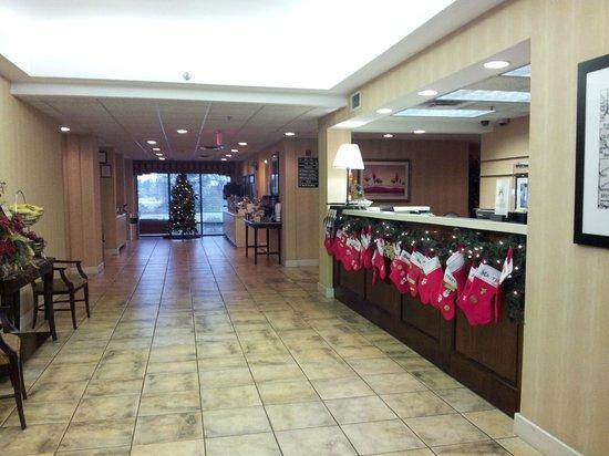 Hampton Inn Adel: Lobby