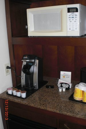 Hilton Garden Inn: Keurig Expresso Maker
