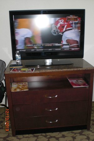 Hilton Garden Inn: Nice TV