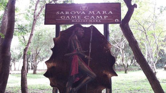 Sarova Mara Game Camp: Hotel Entrance