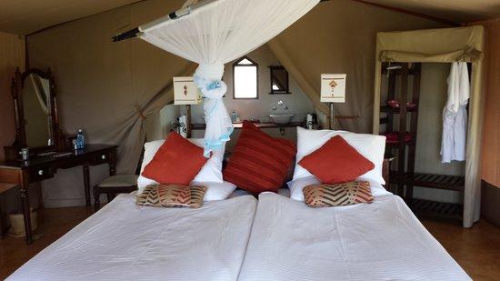 Sarova Mara Game Camp: My bed