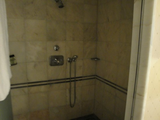 InterContinental Frankfurt: shower
