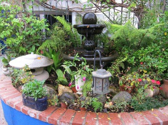 Garden Cottage B & B : serene garden