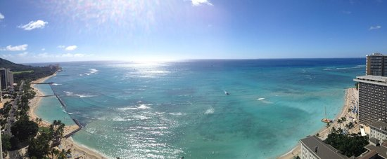 Hyatt Regency Waikiki Resort & Spa : Panoramic View From My Room