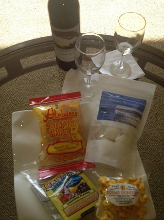 Hyatt Regency Waikiki Resort & Spa : Welcome Amenity