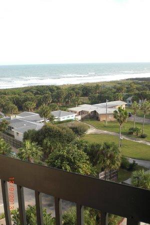 Hampton Inn Cocoa Beach/Cape Canaveral: Great balcony view!