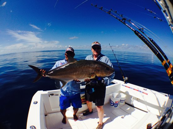 The Zancudo Lodge: Amberjack from the depths