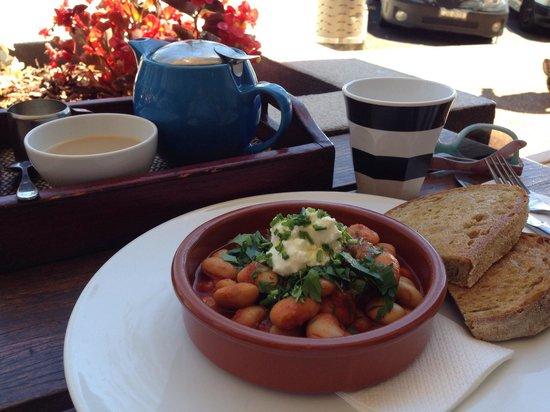 Milkbar: Housemade beans. Yum.